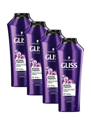 Gliss Intense Therapy Yeniden Yapılandırıcı Şampuan 360 Ml 4'Lü Renksiz
